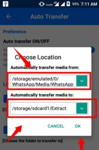 Auto Move Screenshotswhatsapp Images To Sd Card On Android