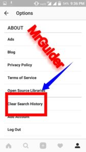Clear Instagram Search History Hide Suggested Accounts