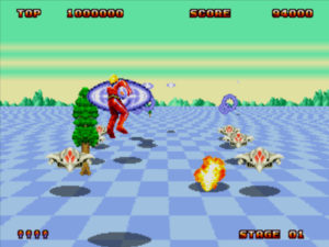 Space Harrier II Game