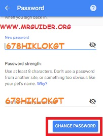 How To Change Your Gmail Password On Android, iPhone - MrGuider