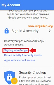 Change Gmail Password