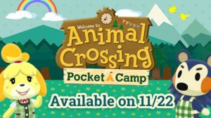 animal crossing pocket camp worldwide release date android