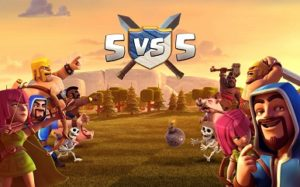 clan war size 5 vs 5 clash of clan update
