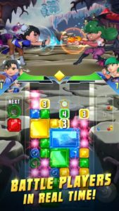 puzzle fighter new android game launches worldwide