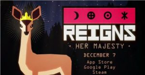 reigns her majesty new android game release date announcement