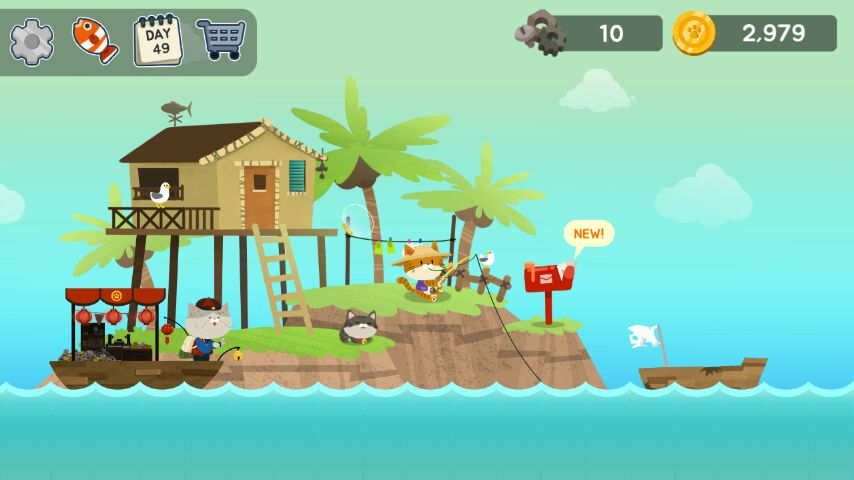 The fishercat new fishing game guide tips overview for Fish cat game