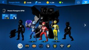 Power Rangers Game By Nexon