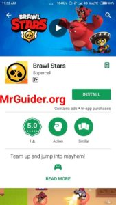 Brawl Stars Google Play Store