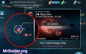 Star Trek Fleet Command Mining Ore