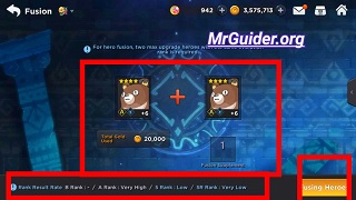 Grand Chase Mobile: Fusion, Monster Cards, Evostone, Selling Cards