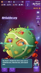 Space Mining DIGSTAR Game