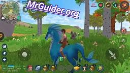 Utopia: Origin Tame Blue Horse