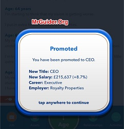 BitLife - Life Simulator Business School and CEO