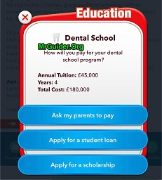 BitLife - Life Simulator Dental School and Dentist