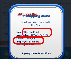 BitLife - Life Simulator - How To Become Fire Chief? - MrGuider