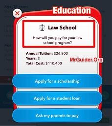 BitLife - Life Simulator Law School Lawyer Judge