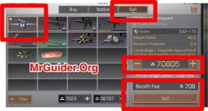 LifeAfter: Trade - Sell Gear and Items