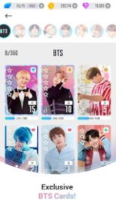Upgrade Cards In BTS World