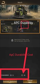 Last Shelter Survival APC Durability