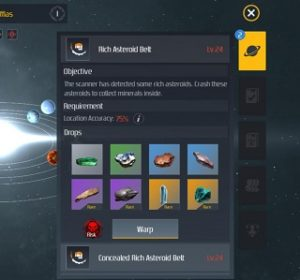 Second Galaxy Leveling Up Pilot