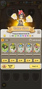 Ulala: Idle Adventure Clatter Cards & Coins