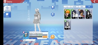 Bleach Mobile 3D Characters List