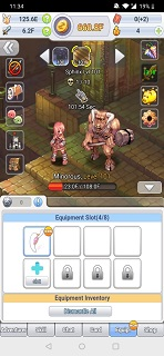 Ragnarok: Click H5 Equipment