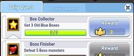 Ragnarok: Click H5 Old Blue Boxes