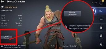 Black Desert Mobile Delete Character - How To Get More Character Slots In Black Desert