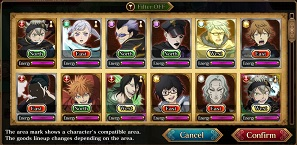 Black Clover Phantom Knights Relic Shop