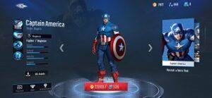 Marvel Super War Captain America