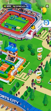Idle Sports City Tycoon