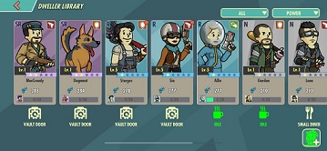 Fallout Shelter Online Tier List Best SSR SR Dwellers