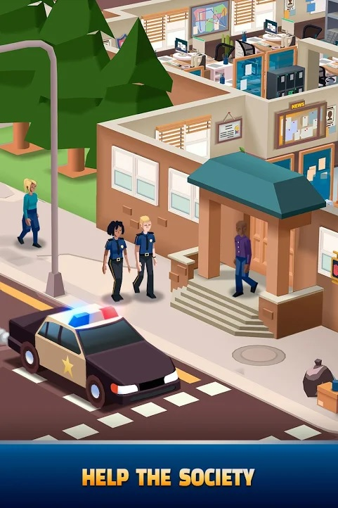 Idle Police Tycoon Shields Badges Get 5 Shields