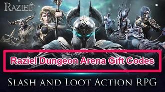 Raziel Dungeon Arena Gift Code Redeem Codes