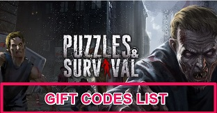 Puzzles and Survival Redeem Code Codes Gift