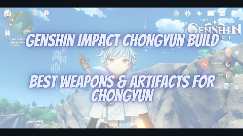 Genshin Impact Chongyun Build Guide Best Weapons Artifacts
