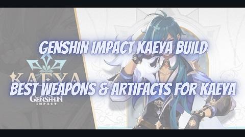 Genshin Impact Kaeya Build Guide Best Weapons Artifacts
