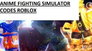 Anime Fighting Simulator Codes Roblox