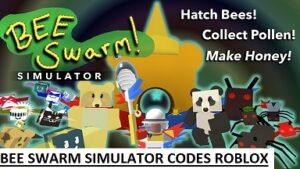 Bee Swarm Simulator Codes Roblox