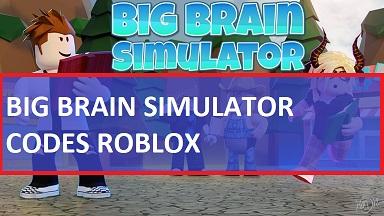 Big Brain Simulator Codes Roblox