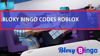 Bloxy Bingo Codes Roblox