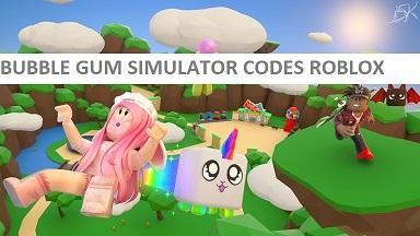 Bubble Gum Simulator Codes Roblox