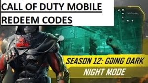 Call of Duty Mobile Redeem Codes