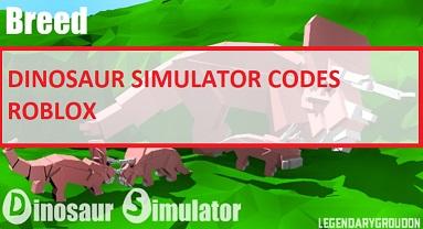 Dinosaur Simulator Codes Roblox