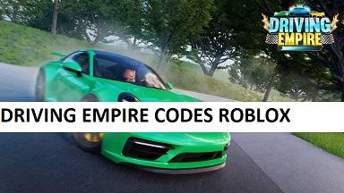 Driving Empire Codes Roblox