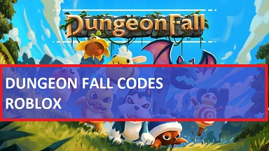 Dungeon Fall Codes Roblox