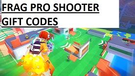 Frag Pro Shooter Codes