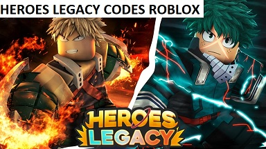 Heroes Legacy Codes Roblox