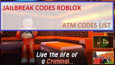 Jailbreak Codes Roblox